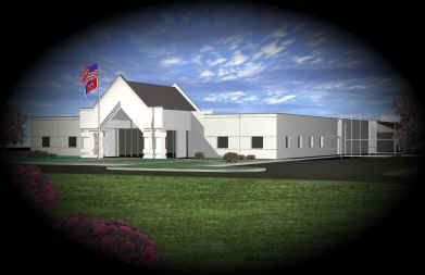 law enforcement center rendering